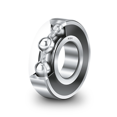 Deep Groove Ball Bearings with DDU seals and high-temperature grease