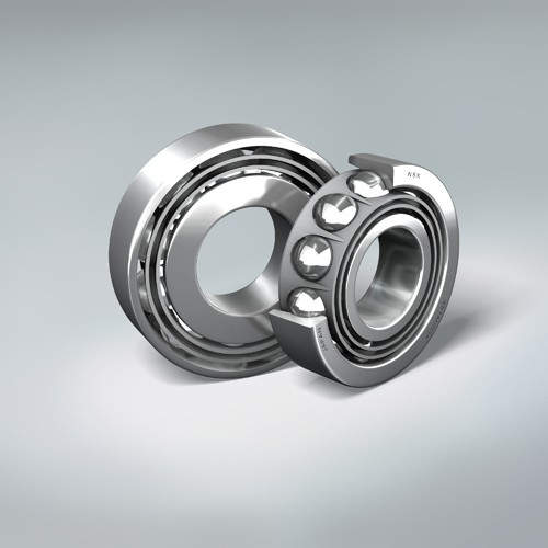 Angular-contact thrust ball bearings of the TAC series are used to take up axial forces on S-HTF ball screws
