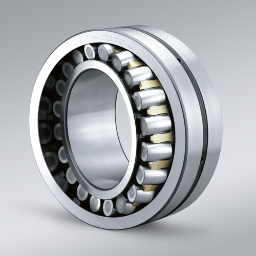 Quiet & Low vibration self-aligning roller bearing for elevators